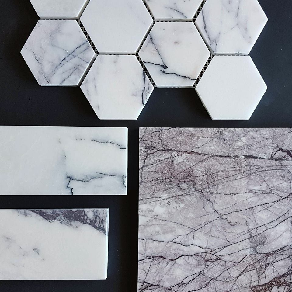New York Marble is where it is at right now. Sumptuous, rich, chic. All that and more.