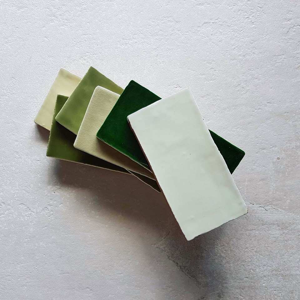 Feeling green? We have more than ten different green subway tiles for you to choose from!