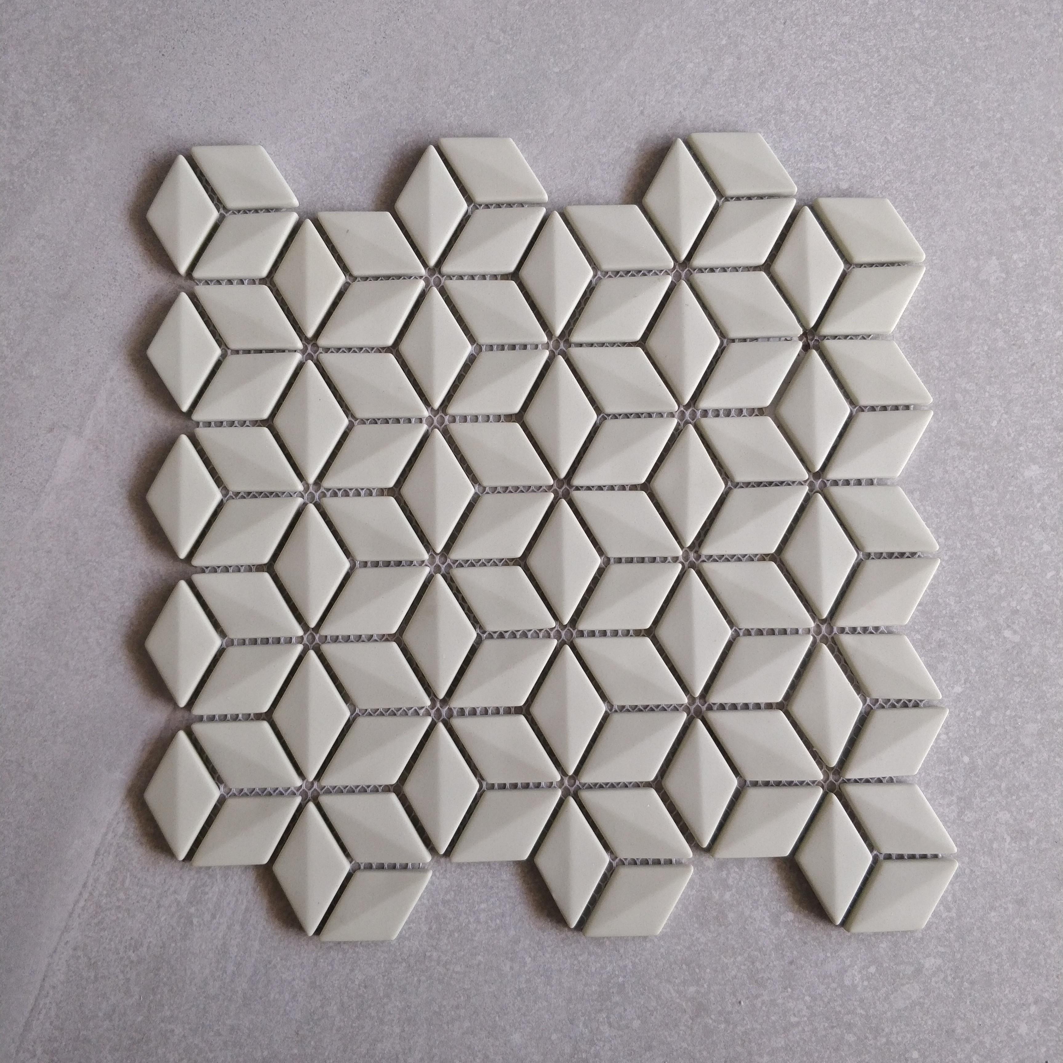 Green Glass Rhombus